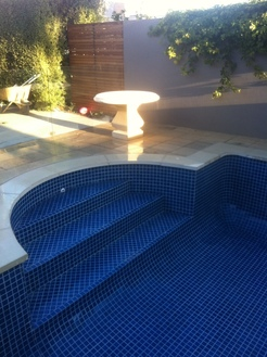 Thompson landscaping pool coping adelaide south for Pool and landscape design adelaide